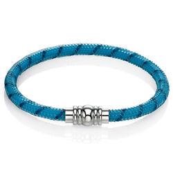 Fred Bennett turkoois silliconen armband
