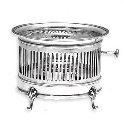 Zilveren komfoor