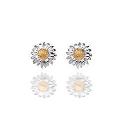 Hot Diamonds Oorstekers Margrietje Diamantje De319