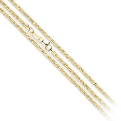 MY iMenso Collier Margherita Goud Verguld 27-0031 50cm
