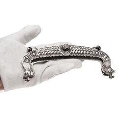 zilveren tasbeugel 19e eeuw