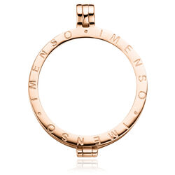 Roséverguld zilver medaillon MY iMenso 33mm 220050-2