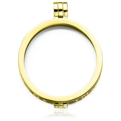 Verguld zilver medaillon 33-0050-1 MY imenso