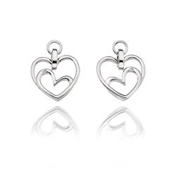 Hot Diamonds oorbellen Forever Heart De344