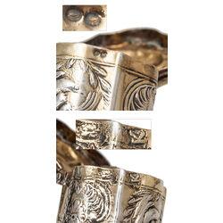 Verguld zilveren lodereindoosje antiek Schoonhoven 1803