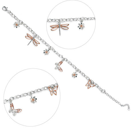 Elements Armbandje 6 Hangertjes