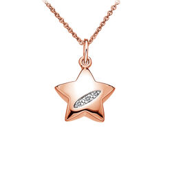 Hot Diamonds Collier Met Hanger Shooting Stars Diamantjes Dp503