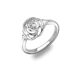 Hot Diamonds Ring Eternal Rose Met Een Diamantje Dr122