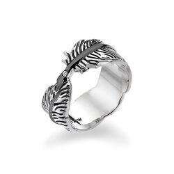 Hot Diamonds Feather Ring Diamantje Dr129