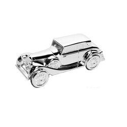 Verzilverde Spaarpot Rolls Royce