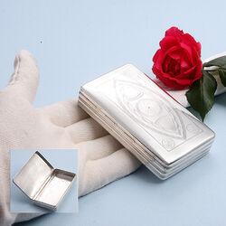 Zilveren tabaksdoos antiek
