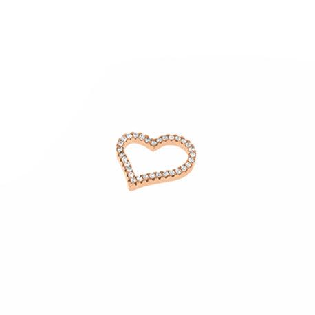 Jiver asymmetrisch hart rosegoud verguld 280113 MY iMenso