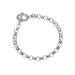 Zilveren bedel armband Raspini