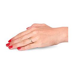 Geelgouden 14 Krt Ring 3 Briljanten