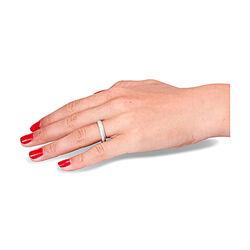 witgouden ring met 90 briljanten