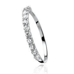 Zinzi Knuckle Ring Zirkonia Zir827k