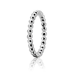 Zinzi Knuckle Ring Bolletjes Zir923k