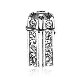 Tondeldoosje Antiek Zilveren