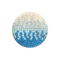 wit blauwe Swarovski insignia 33mm 330841 MY iMenso