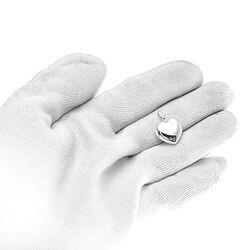 Zilveren hart hangertje