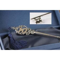 Zilveren sleutel 25 jaar van Raspini