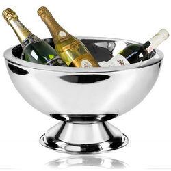 Grote gladde Stalen Champagnekoeler Cadiz