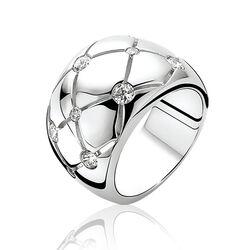 Zinzi Zilveren Ring Zirkonia Zir566