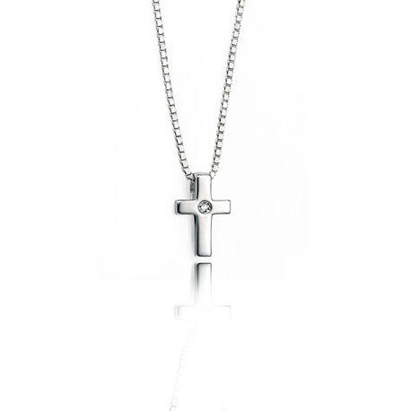 D For Diamond Kruisje Met Collier P800