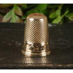 Gouden Vingerhoed Rond 1900