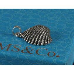 Zilveren hanger of bedel schelp van Raspini