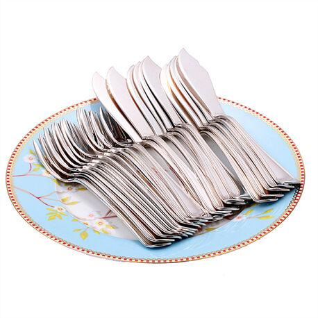 Zilveren viscouverts dubbelrondfilet enkelzijdig