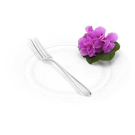 Puntfilet Zilveren Dessertvork