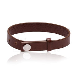 MY iMenso Bruin Leren Armband 27-1168