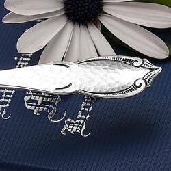 Zilver theeschepje Art Deco