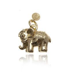 Raspini verguld zilveren geluksolifant