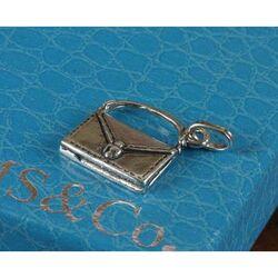 Zilveren hanger of bedel tasje van Raspini