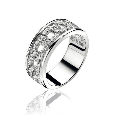 Zinzi Luxe Ring Gourmet Zirkonia Zir1087