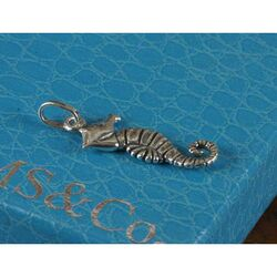 Zilveren charms zeepaardje van Raspini