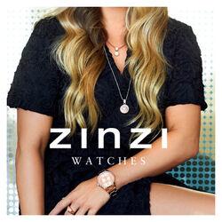 Zinzi Watch Rose Kleurig Verguld Ziw302
