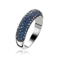 Zinzi Ring Blauw Zirkonia Zir632b