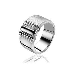 Mart Visser zilveren ring zirkonia Mvr6