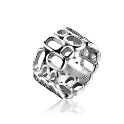 Mart Visser Opengewerkte Zilveren Ring Mvr3