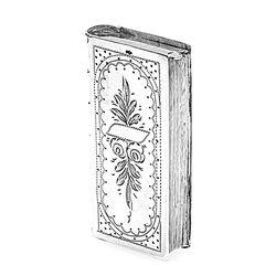 zilver tondeldoosje boek