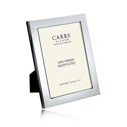 Verzilverde fotolijst Carrs glad 18 x 13 cm fpr4