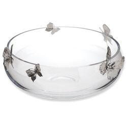 Raspini Schaal Met Zilveren Vlinders