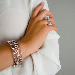 Zilveren armband bede schakels Mart Visser by Zinzi Mva3