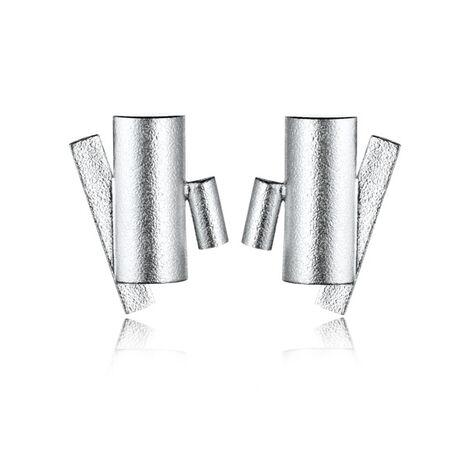 Zilver oorbellen Suma Lapponia 672875