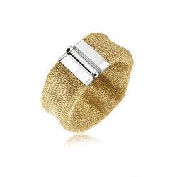 Adami & Martucci Mesh Armband Goud Verguld Am202