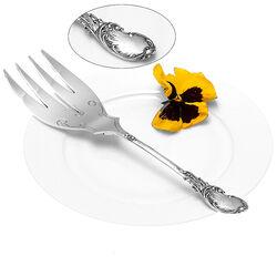 Zilveren visdienvork Neo stijl