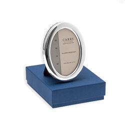 Glad ovaal zilveren fotolijstje van Carrs PO1